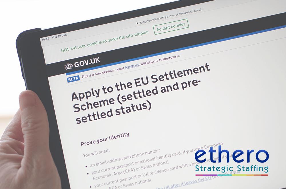 Ethero happy to help EU Settlement Scheme applications
