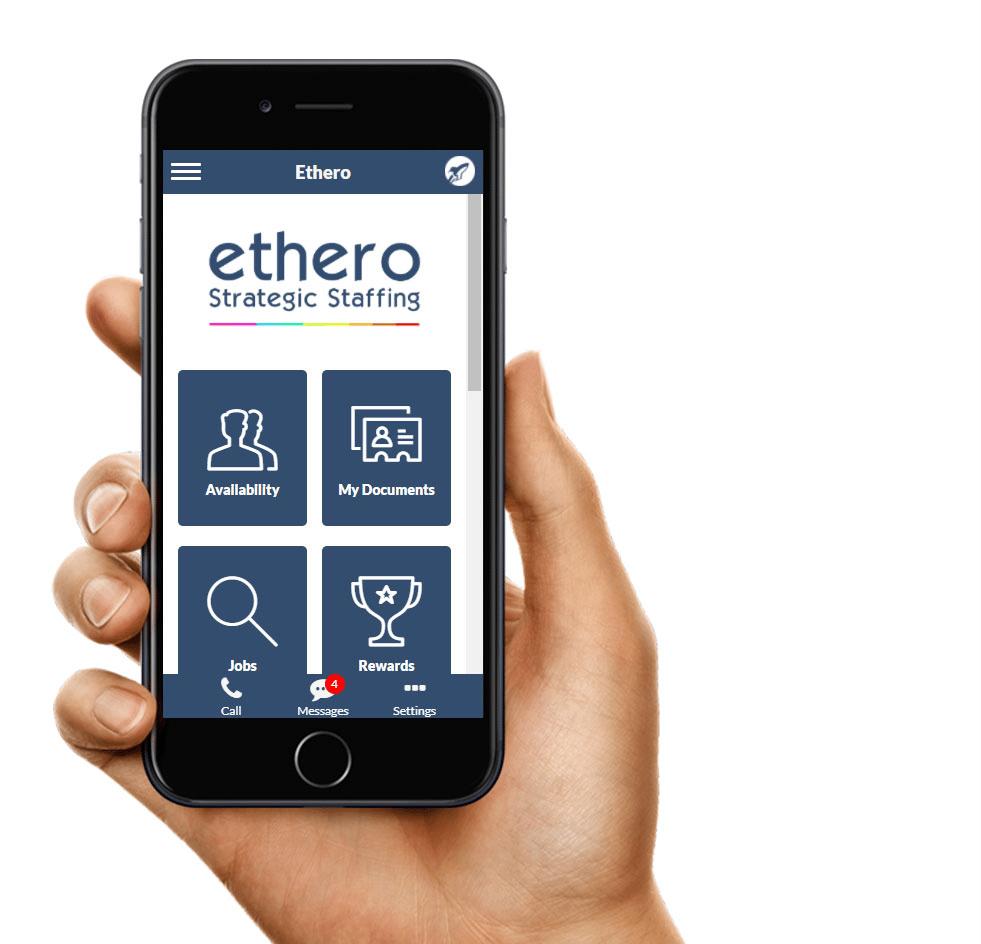 Ethero worker app